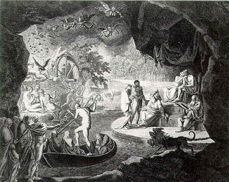Ancient World N... Odysseus In The Underworld In The Movie