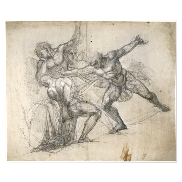 Henry Fuseli, The Death of Brutus